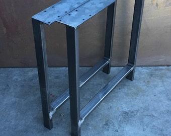 Metal table legs H set of 2