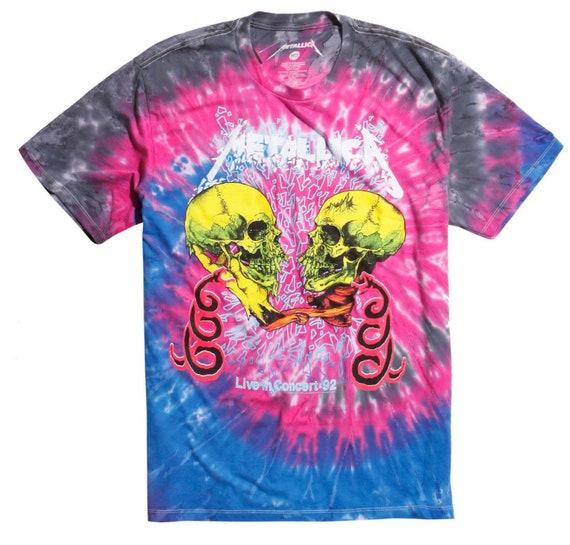 Metallic Tie Dye T-shirt - Live in Concert 92