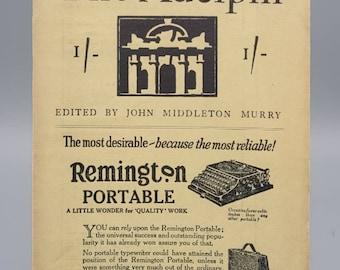 The Adelphi, Vol. II No. 11, Vintage Literary Journal - Featuring Maxim Gorky (1925)