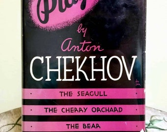 Anton Chekhov, Plays By Anton Chekhov, Rare Vintage Hardcover w/ Dust Jacket (1935)