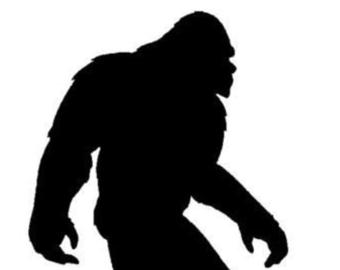 Pack of 3 Bigfoot Stencils,Made from 4 Ply Mat Board 16x20, 11x14 and 8x10 -Package includes One of Each Size