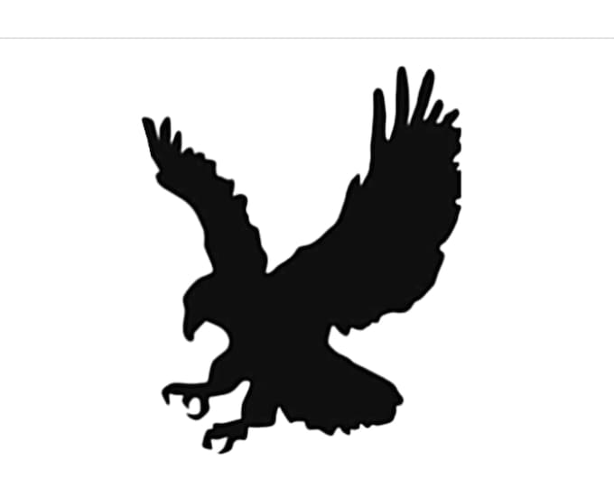 Pack of 3 Eagle Style 2 Stencils Made from 4 Ply Mat Board, 16x20, 11x14 and 8x10 -Package includes One of Each Size