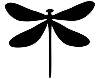 Pack of 3 Dragonfly Stencils, 11x14, 8x10 and 5x7 Made From 4 Ply Matboard