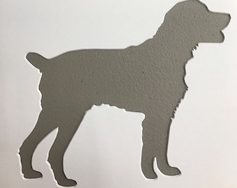 Springer Spaniel Stencil Made from 4 Ply Mat Board-Choose a Size-From 5x7 to 24x36