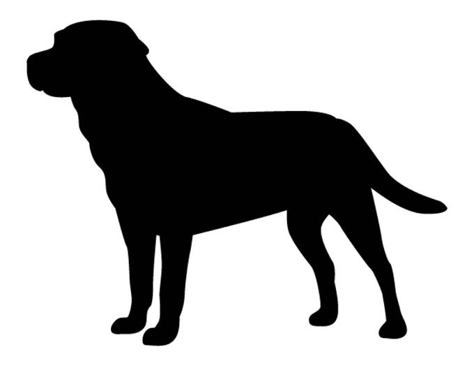 Labrador Stencil Made from 4 Ply Mat Board-Choose a Size-From 5x7 to 24x36