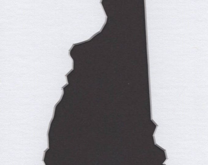 Pack of 3 New Hampshire State Stencils, Made from 4 Ply Mat Board 18x24, 16x20 and 11x14