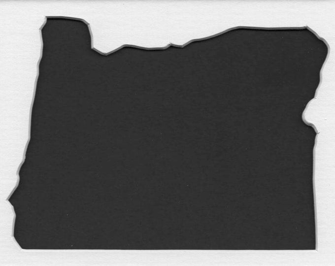 Pack of 3 Oregon State Stencils, Made from 4 Ply Mat Board 18x24, 16x20 and 11x14 -Package includes One of Each Size