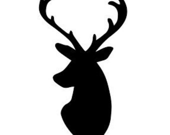 Deer Stencil Made from 4 Ply Mat Board-Choose a Size-From 5x7 to 24x36