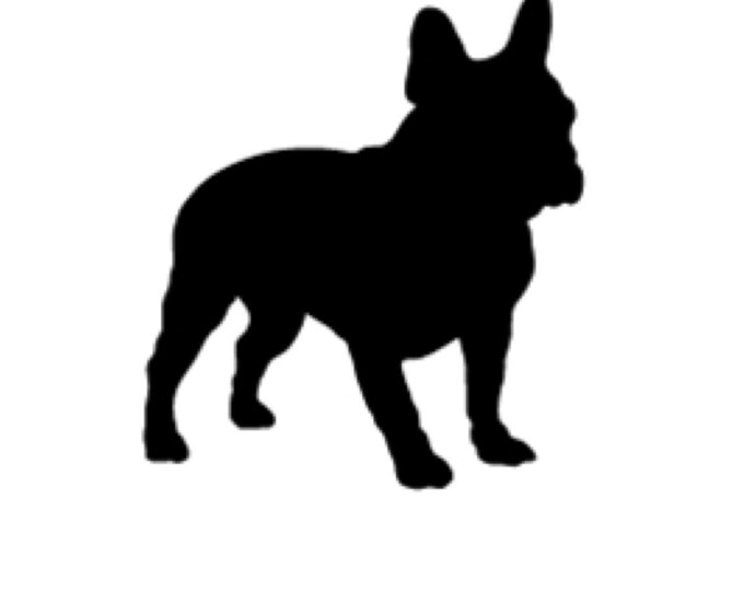 Boston Terrier Stencil Made from 4 Ply Mat Board-Choose a Size-From 5x7 to 24x36