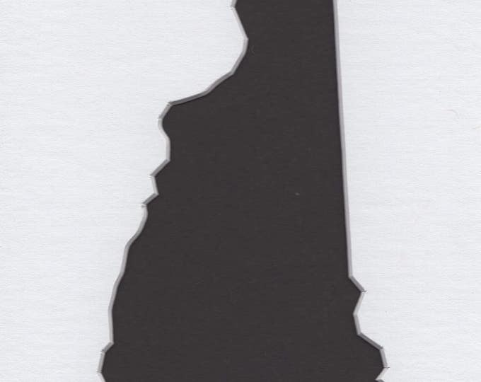 New Hampshire State Stencil Made from 4 Ply Mat Board-Choose a Size-From 5x7 to 24x36