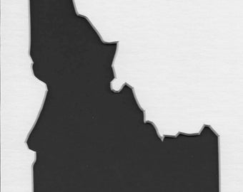Idaho State Stencil Made from 4 Ply Mat Board-Choose a Size-From 5x7 to 24x36