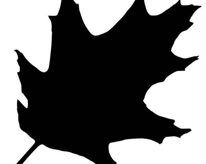 Pack of 3 Oak Leaf Stencils, 16x20, 11x14 and 8x10 -Package includes One of Each Size