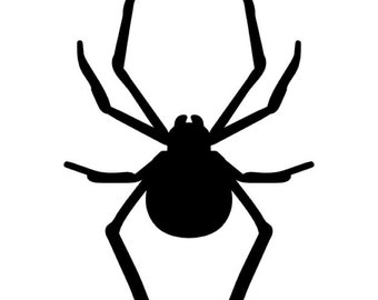 Spider Stencil Made from 4 Ply Mat Board-Choose a Size-From 5x7 to 24x36