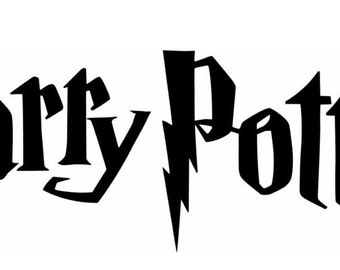 image about Harry Potter Stencils Printable called Harry potter stencil Etsy