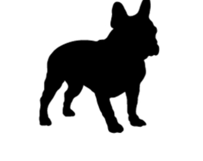 Pack of 3 Boston Terrier Stencils Made from 4 Ply Mat Board, 11x14, 8x10 and 5x7 -Package includes One of Each Size