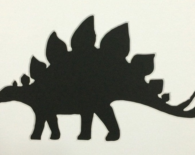 Stegasaurus Stencil Made from 4 Ply Mat Board-Choose a Size-From 5x7 to 24x36