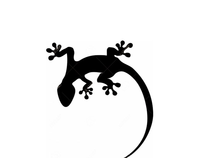 Lizard-Gecko Stencil Made from 4 Ply Mat Board-Choose a Size-From 5x7 to 24x36