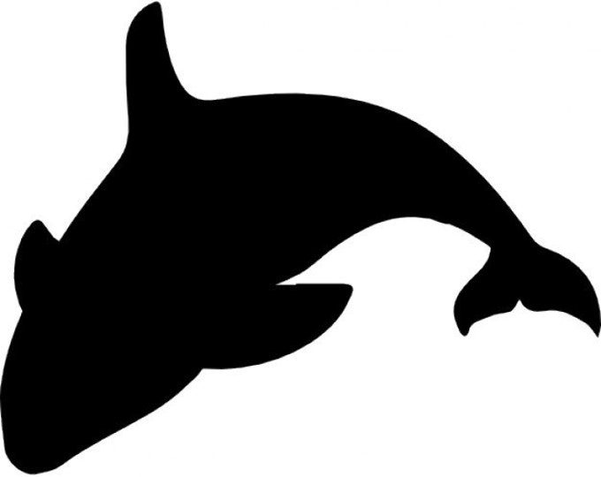 Orca Killer Whale Stencil Made from 4 Ply Mat Board-Choose a Size-From 5x7 to 24x36
