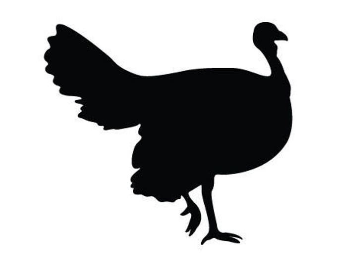 Pack of 3 Turkey Style 2 Stencils Made from 4 Ply Mat Board, 11x14, 8x10 and 5x7 -Package includes One of Each Size