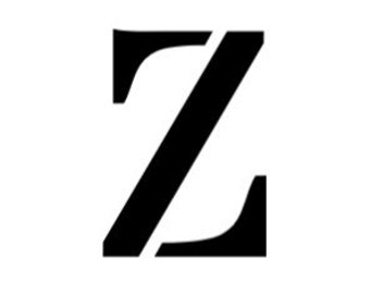 Letter Z Stencil Made from 4 Ply Mat Board- Stardos Font