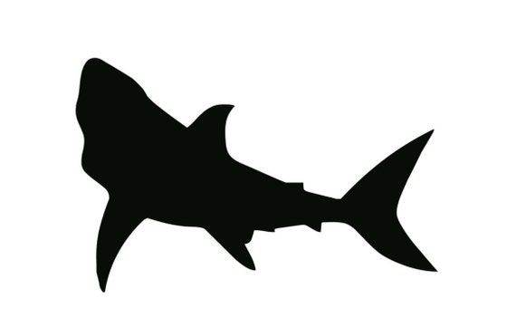 Shark Stencil Made From 4 Ply Mat Board Choose A Size From