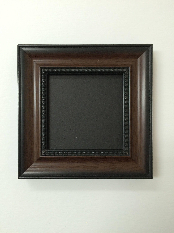24x36 1.25 Walnut Beaded Solid Wood Picture Frame-Plexiglass