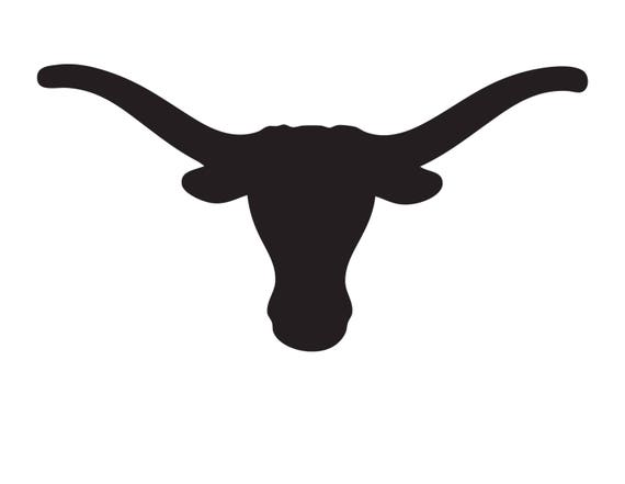 Texas Longhorn Stencil Made From 4 Ply Mat Board Choose A