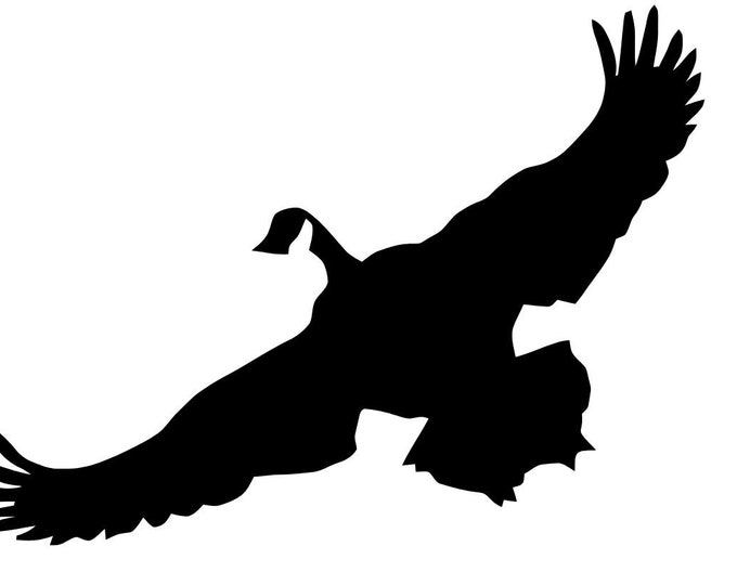 Flying Grouse Stencil Made from 4 Ply Mat Board-Choose a Size-From 5x7 to 24x36