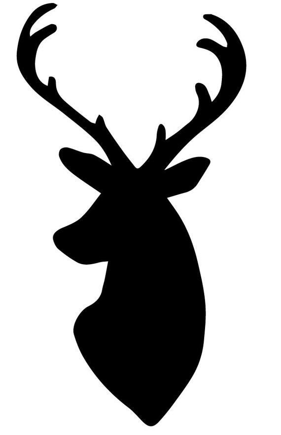 Pack Of 3 Deer Stencils Made From 4 Ply Mat Board 18x24