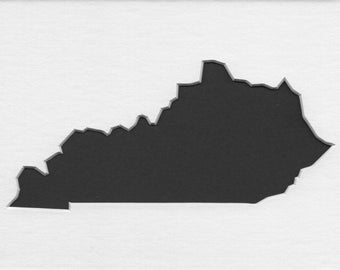 Pack of 3 Kentucky State Stencils,Made from 4 Ply Mat Board 16x20, 11x14 and 8x10 -Package includes One of Each Size
