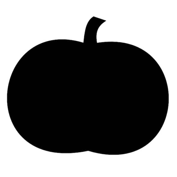 Pumpkin Stencil Made From 4 Ply Mat Board Etsy