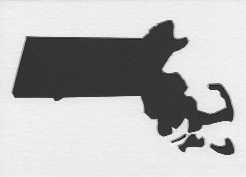 Package includes One of Each Size 11x14 and 8x10 Pack of 3 Massachussetts State Stencils,Made from 4 Ply Mat Board 16x20