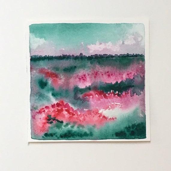 Aquarel Abstract Art