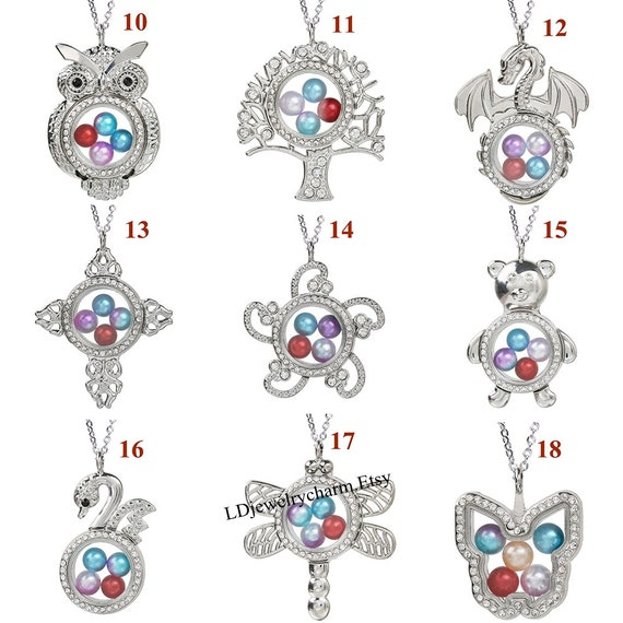 Fashion Silver Metal Alloy Charms Halloween Ghost Cage Lockets Pendants Necklace