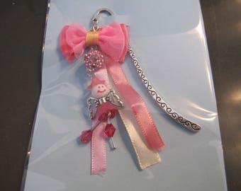 Pink fairy bookmark