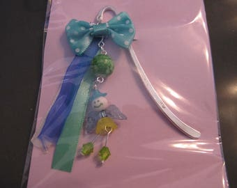 Green/blue fairy bookmark