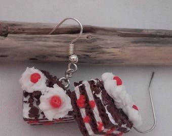 Black Forest earrings