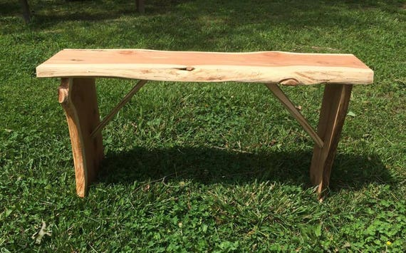 Simple Cedar Bench