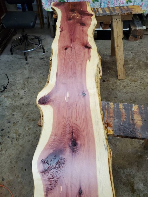5 ft Satin Finish live edge Slab
