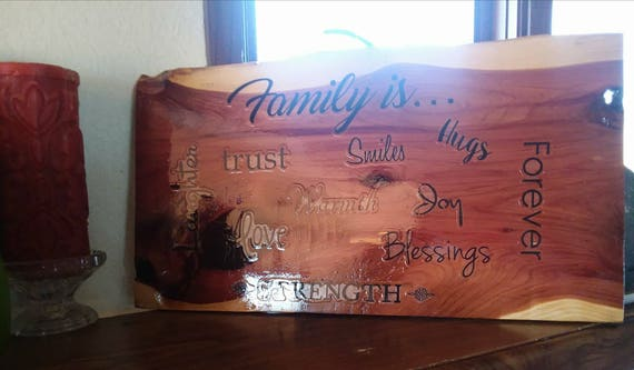 Family is.....  Wall Hanging / Sign