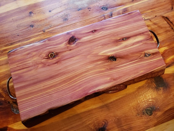 Cedar Charcuterie Board  / Cheese board