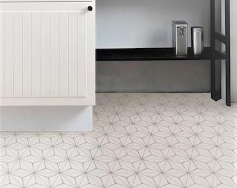 Kikko Peel and Stick Vinyl Floor Tiles
