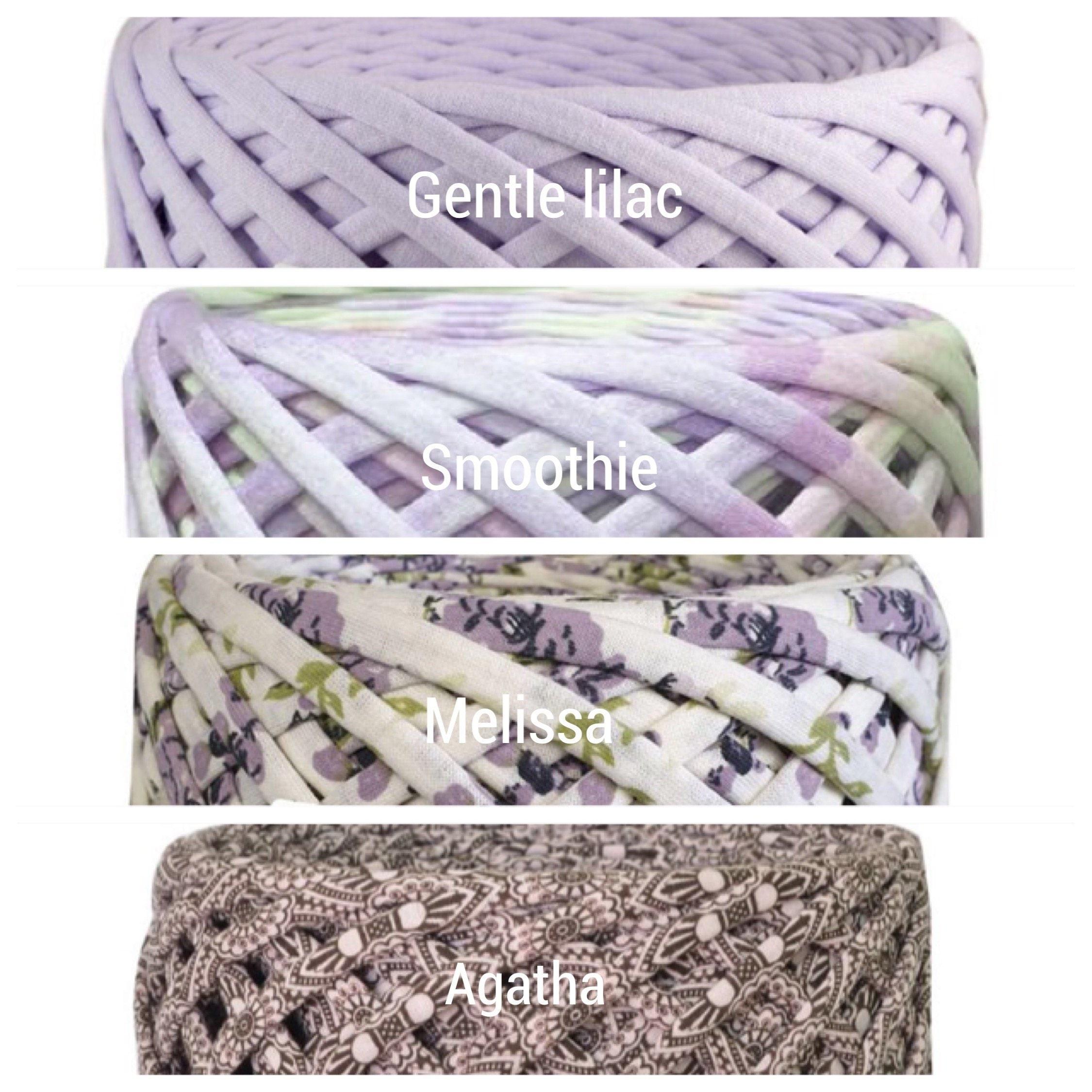 T Shirt Yarn Crochet Yarn Fabric Knitting Yarn Spaghetti Etsy