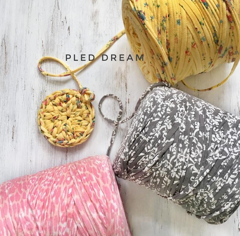 Art Yarn T Shirt Yarn Crochet Yarn Fabric Knitting Yarn Etsy