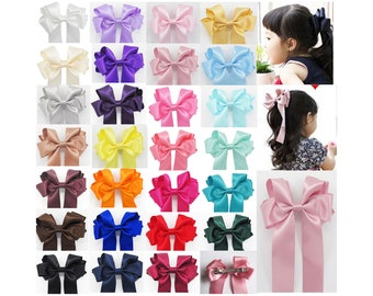 United Pink Paisley And Black Handmade Boutique Hair Bow New Customers First Kids' Clothing, Shoes & Accs Clothing, Shoes & Accessories