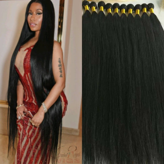 30 40 Inch 1 Bundle 100g Top Grade 9a Best Quality Human Hair Etsy