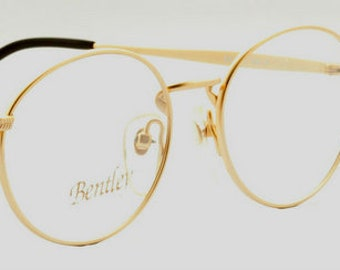 318d214d026 Classic Oval Glasses By Bentley 26 In A Shiny Gold Finish
