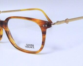 b3632b5a40f VERSACE V29 Classic Vintage Designer Acrylic Glasses