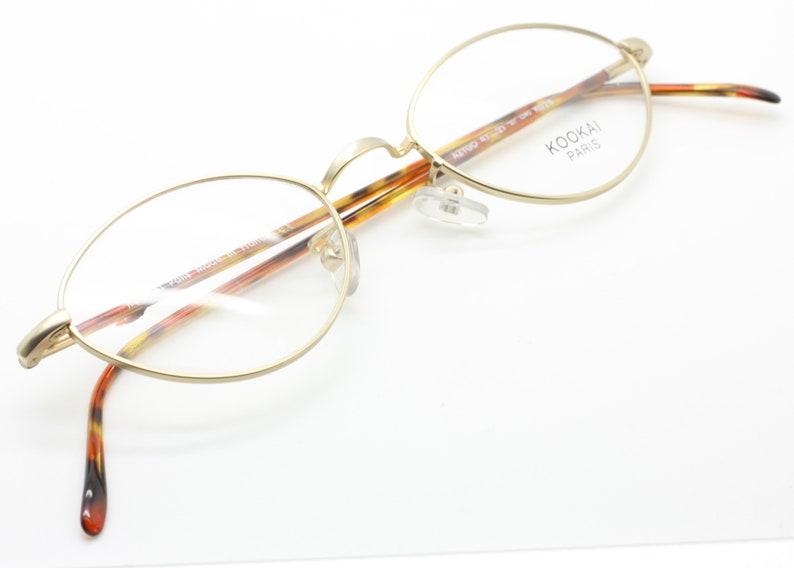dadd65876c Kookai AZYGO K026 Oval designer frames in Gold and Tortoiseshell
