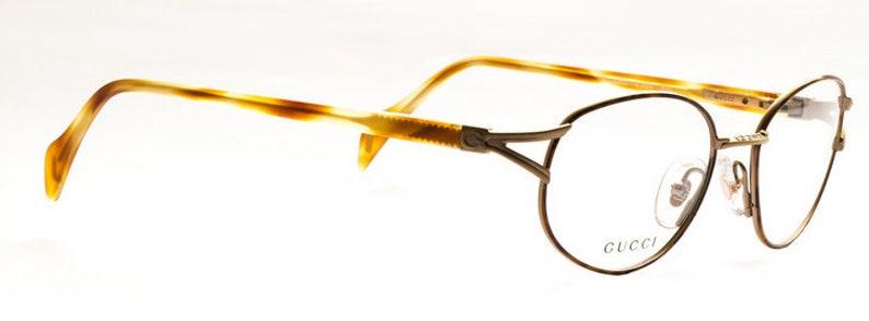2bb85ab905d94 Vintage Oval Shaped Glasses By Gucci 2389 Designer Frames